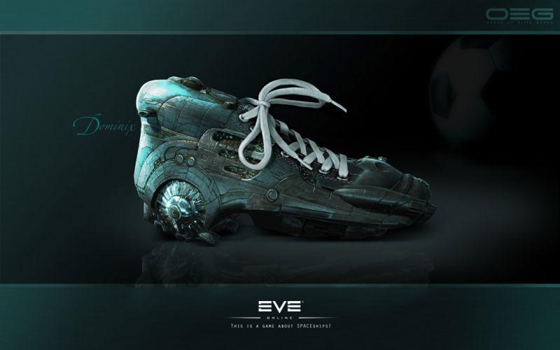 EVE ONLINE sci-fi game spaceship te wallpaper