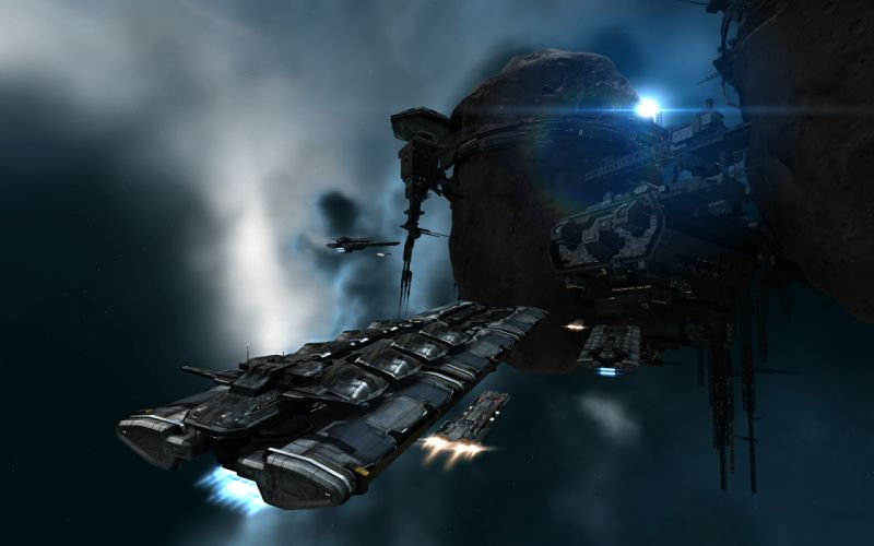 EVE ONLINE sci-fi game spaceship y wallpaper