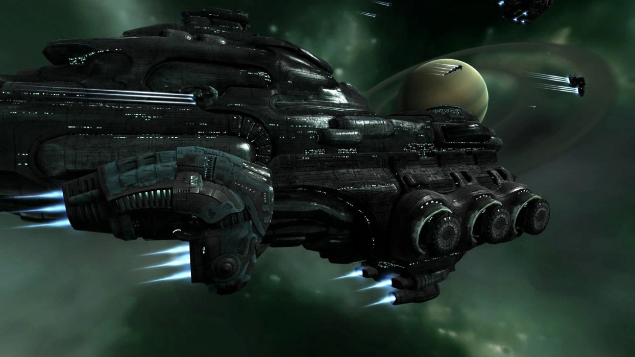 EVE ONLINE sci-fi game spaceship   g wallpaper
