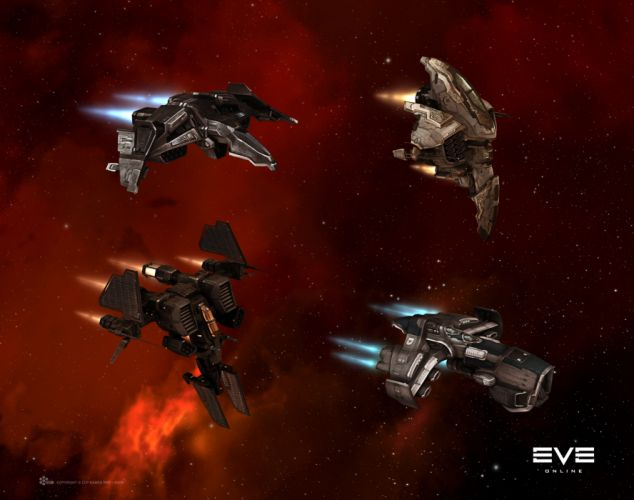 EVE ONLINE sci-fi game spaceship fw wallpaper