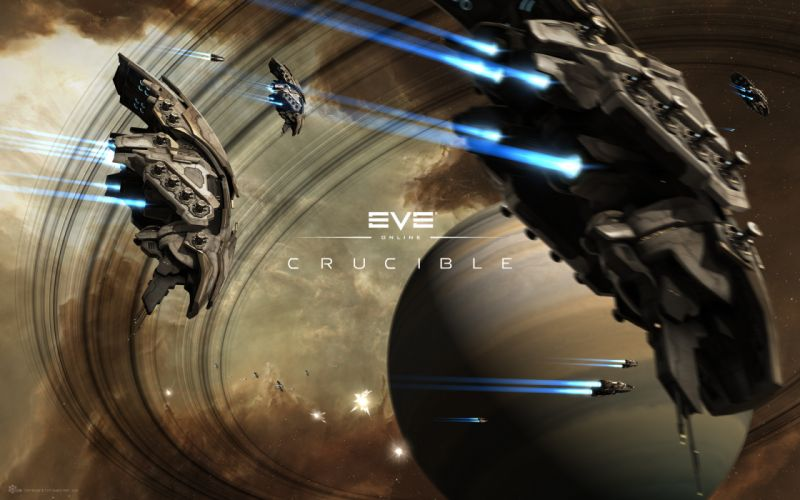 EVE ONLINE sci-fi game spaceship ts wallpaper