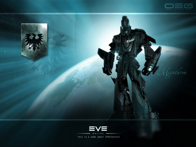 EVE ONLINE sci-fi game spaceship mecha t wallpaper