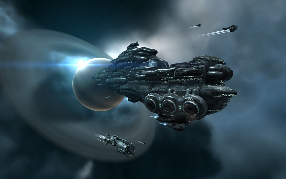 EVE ONLINE sci-fi game spaceship space         f wallpaper