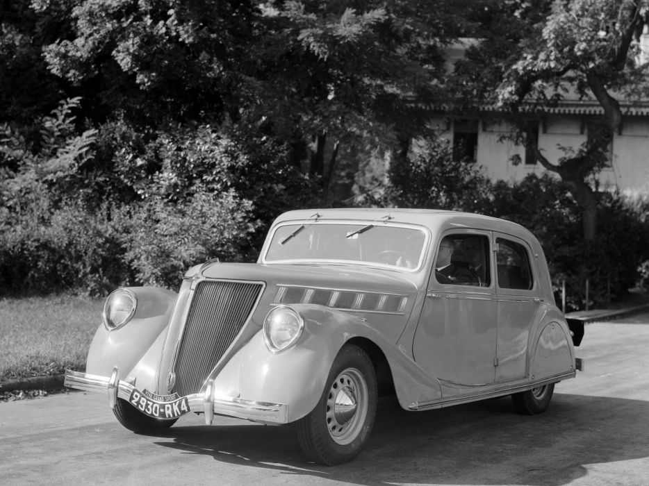 1934 Renault Viva Grand Sport Sedan retro luxury    g wallpaper