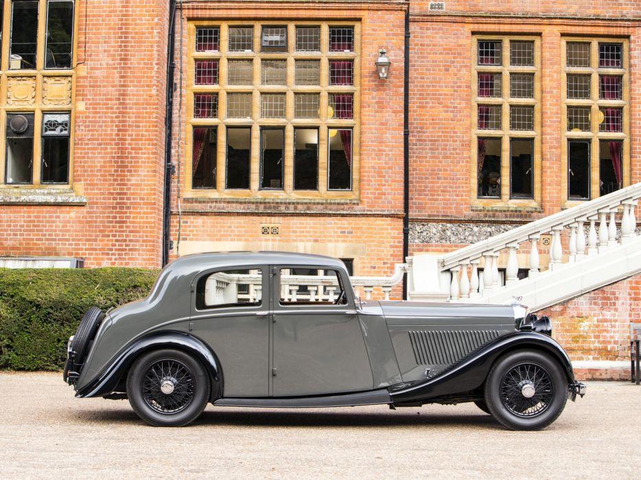 1936 Bentley Sports Saloon by Park Ward luxury retro   fr wallpaper