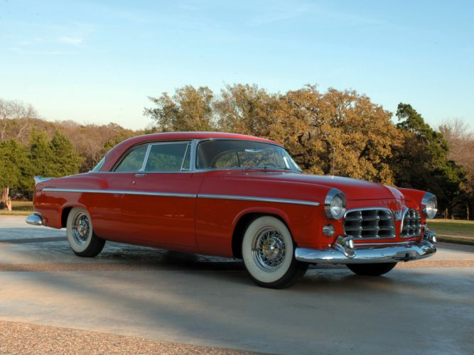 1955 Chrysler C-300 retro fs wallpaper