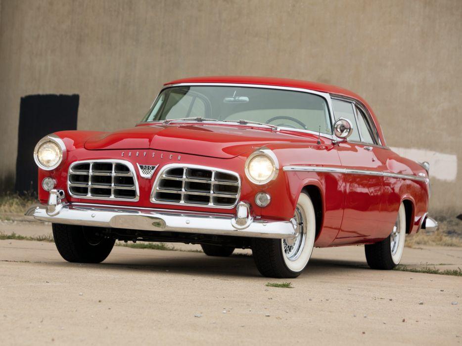 1955 Chrysler C-300 retro     d wallpaper