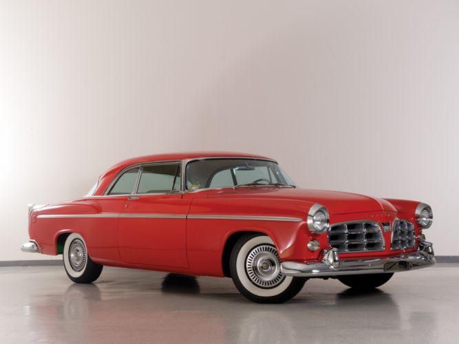 1955 Chrysler C-300 retro f wallpaper