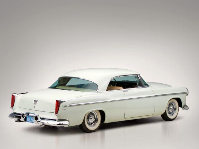 1955 Chrysler C-300 retro fa wallpaper