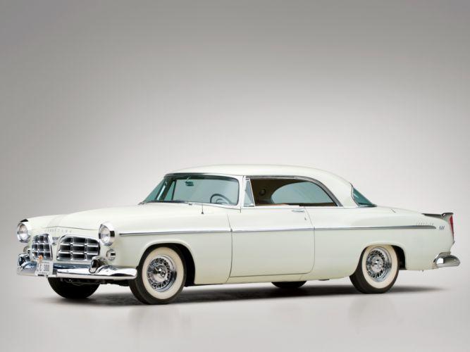 1955 Chrysler C-300 retro w wallpaper