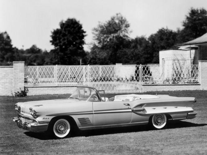 1958 Pontiac Bonneville Custom Convertible (2567SD) t wallpaper