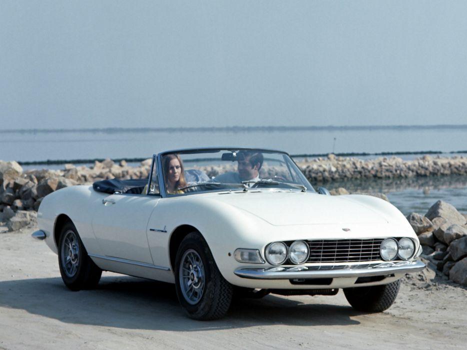 1966 Fiat Dino Spider (135) classic   t wallpaper