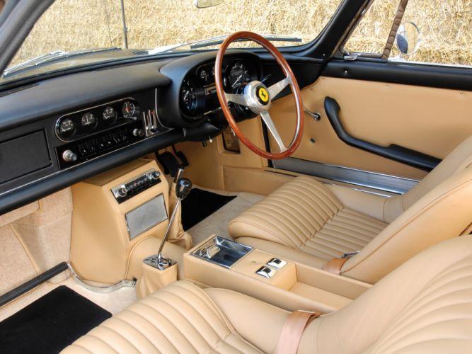1968 Ferrari 275 GTB-4 UK-spec supercar classic interior g wallpaper