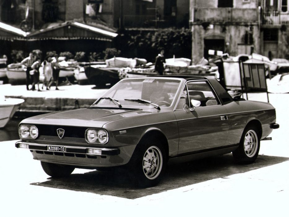 1975 Lancia Beta Spyder (828) wallpaper