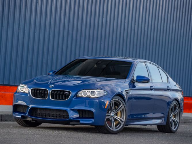 2014 BMW M5 US-spec (F10) m-s f wallpaper