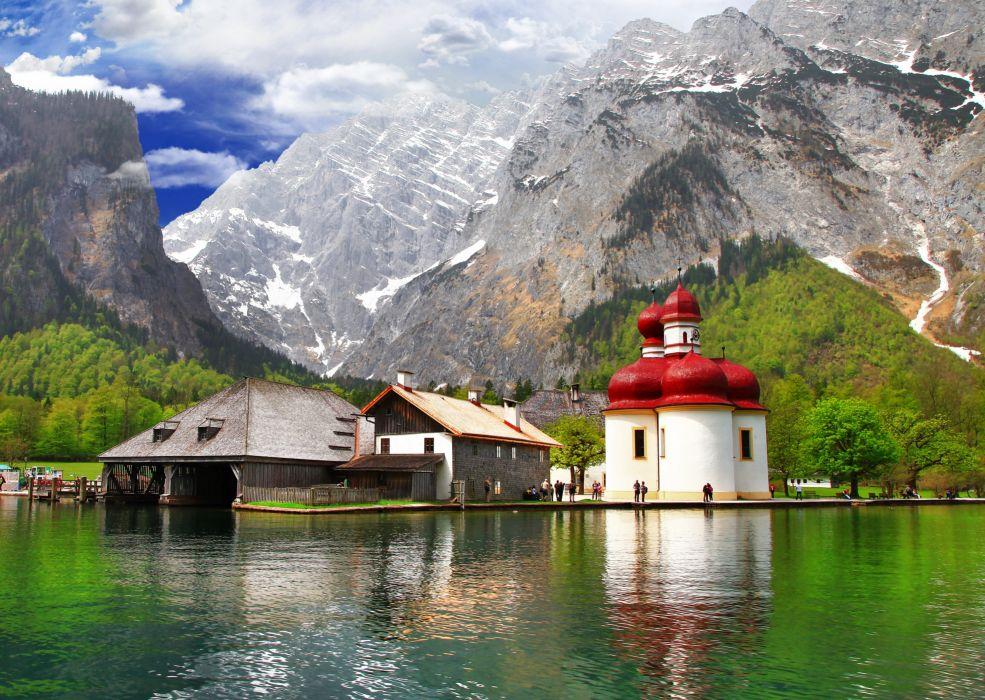 Berchtesgaden Bavaria bayern wallpaper