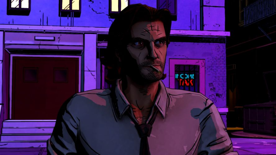 THE WOLF AMONG US game y wallpaper