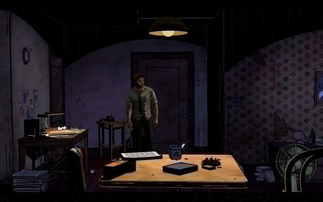 THE WOLF AMONG US game  e wallpaper