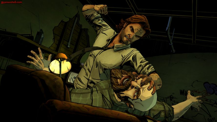THE WOLF AMONG US game dark g wallpaper