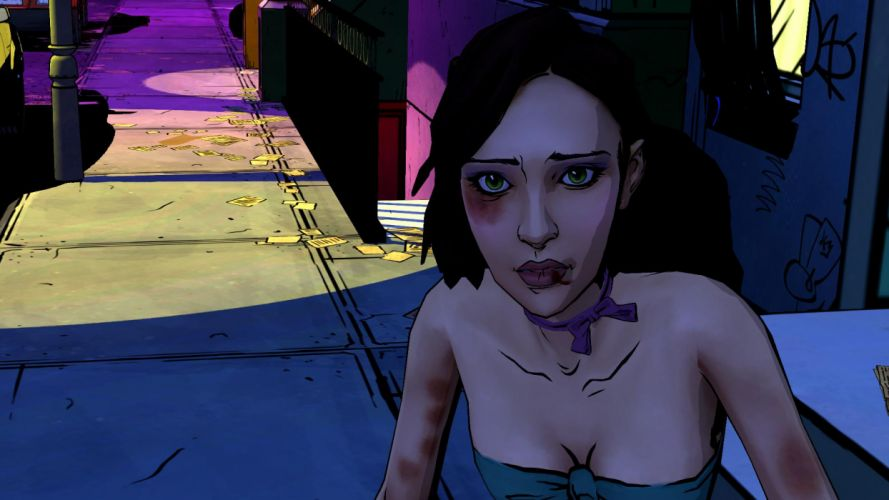 THE WOLF AMONG US game dark u wallpaper