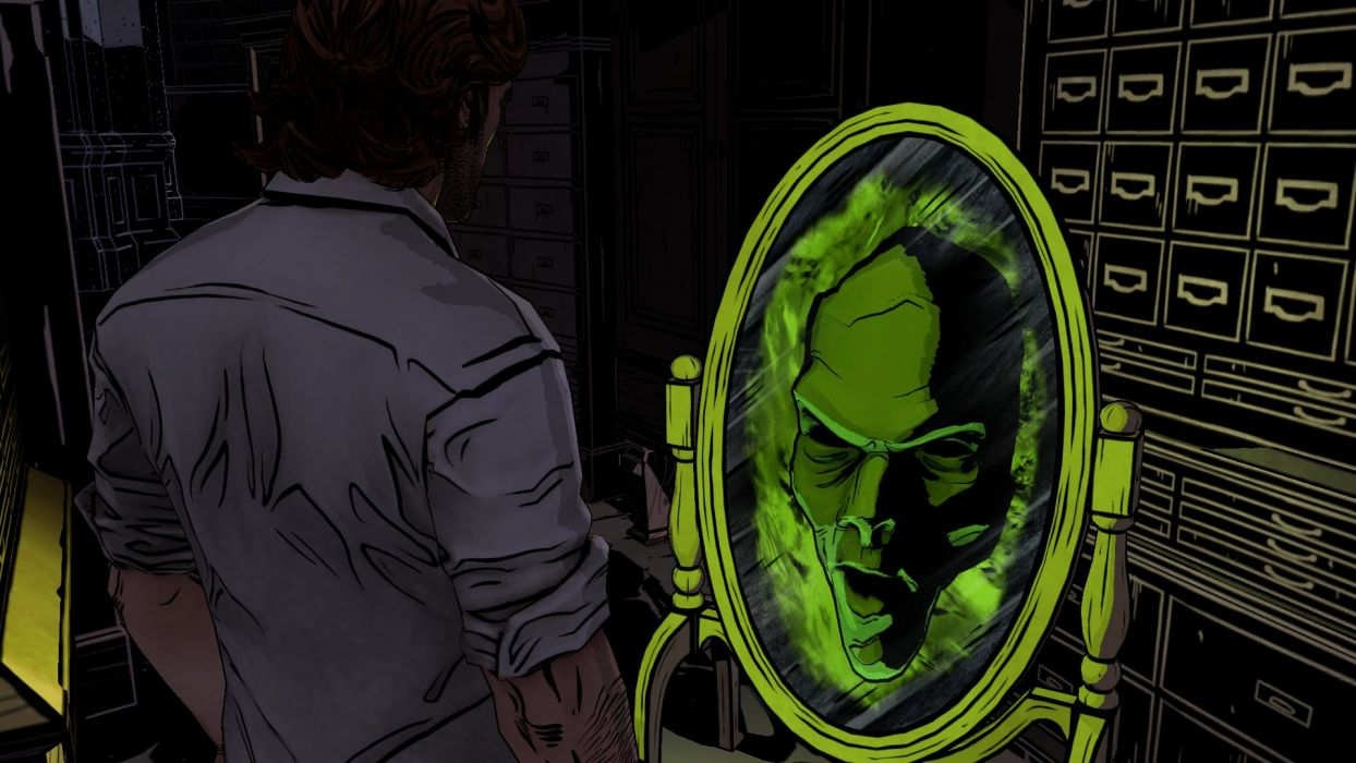 THE WOLF AMONG US game dark fantasy mirror        g wallpaper