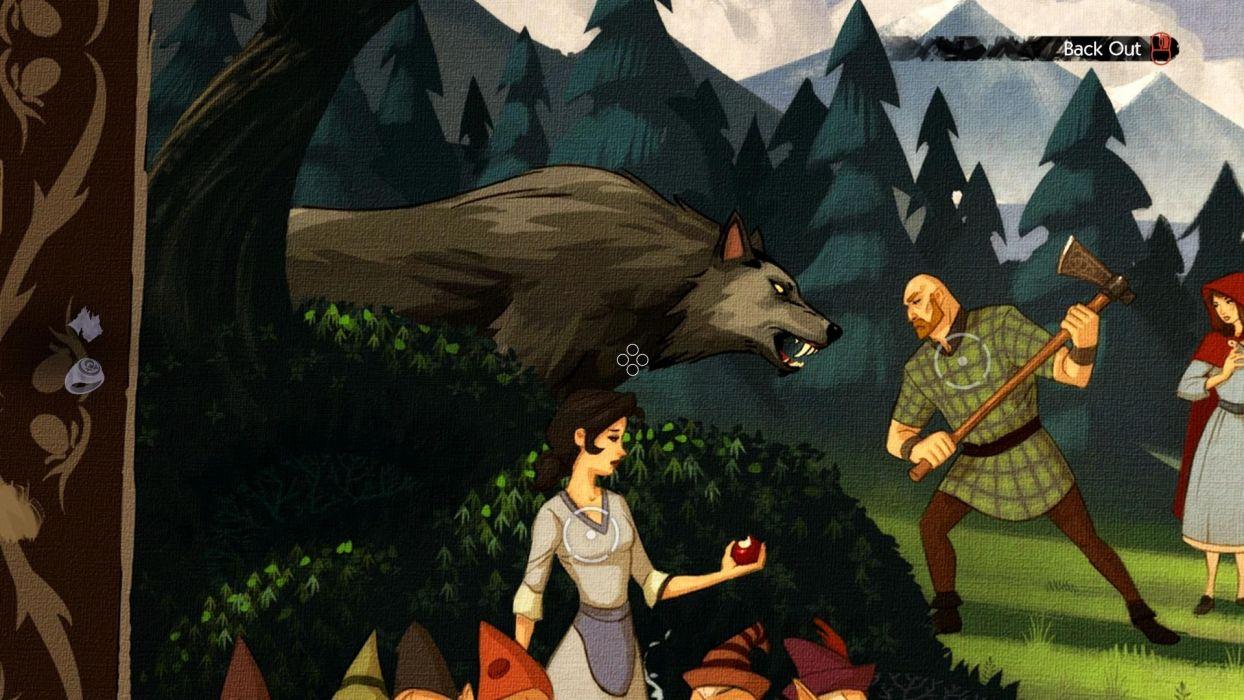 THE WOLF AMONG US Game Dark Werewolf Fantasy G Wallpaper