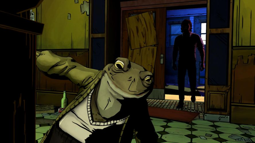 THE WOLF AMONG US game frog g wallpaper