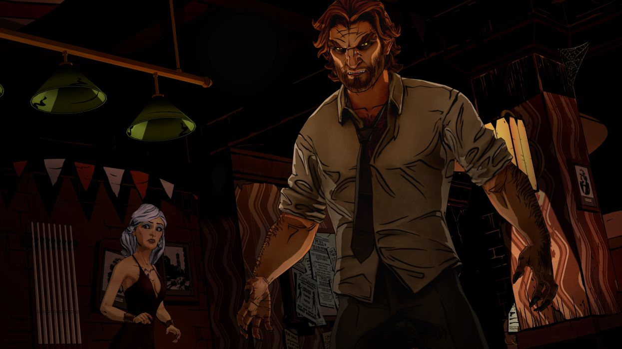 THE WOLF AMONG US game dark werewolf         g wallpaper
