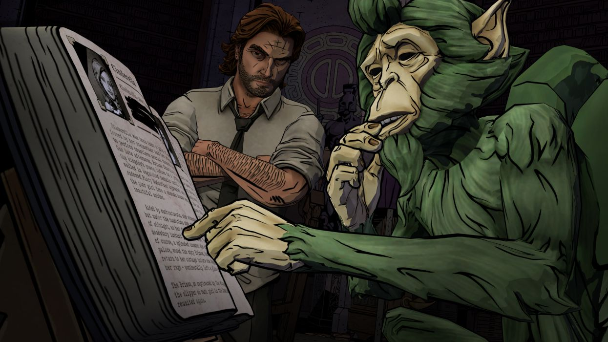 THE WOLF AMONG US game monkey      g wallpaper