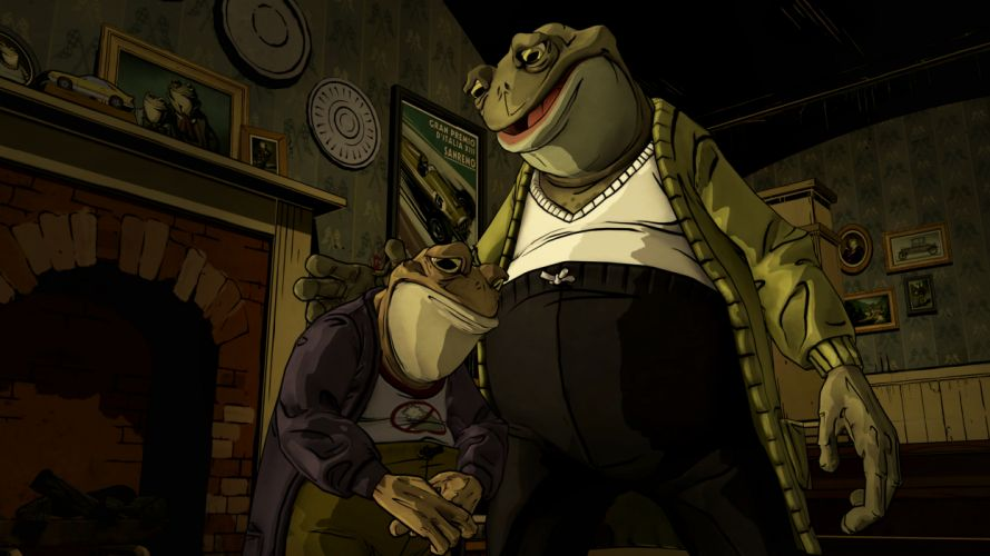 THE WOLF AMONG US game monster frog h wallpaper