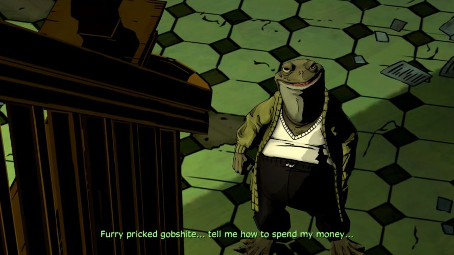 THE WOLF AMONG US game monster frog y wallpaper