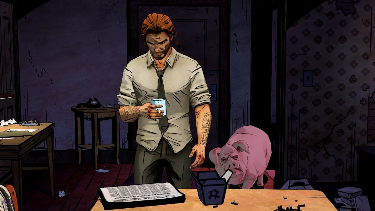 THE WOLF AMONG US game pig       r wallpaper