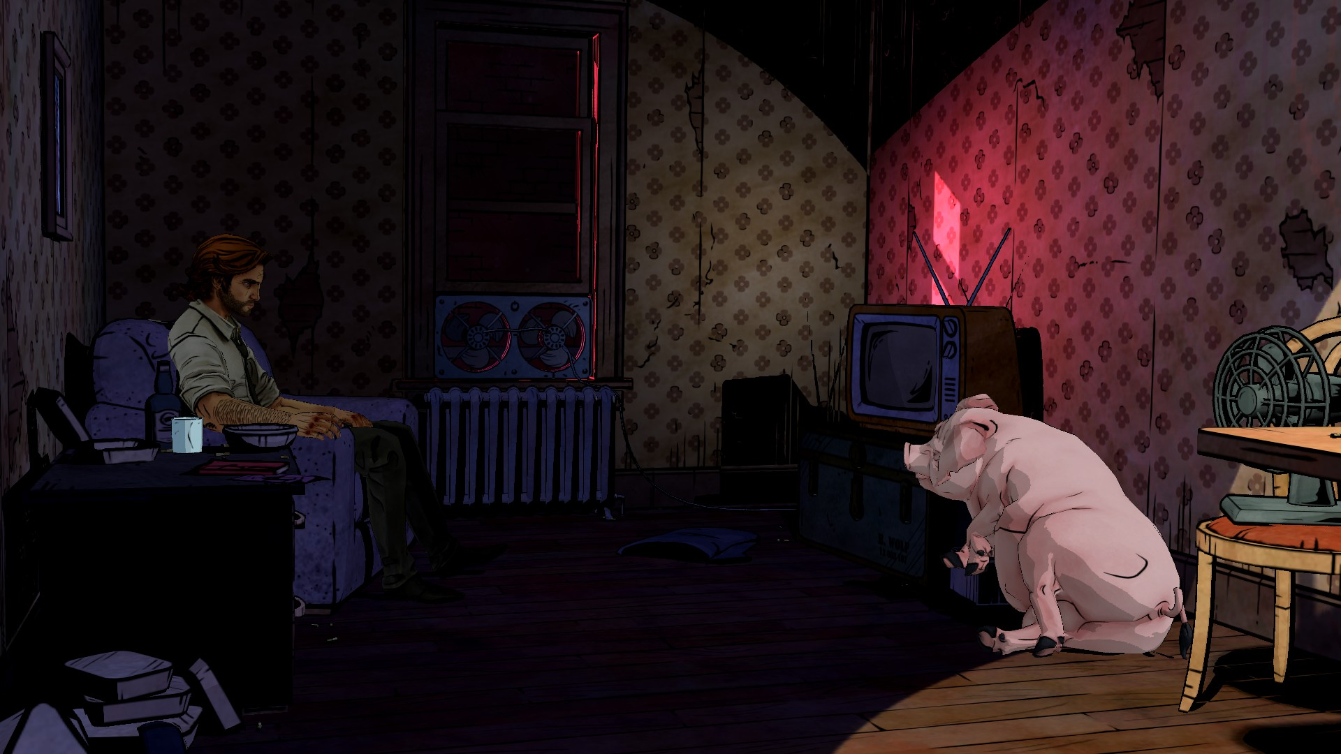 THE WOLF AMONG US Game Pig Wallpaper