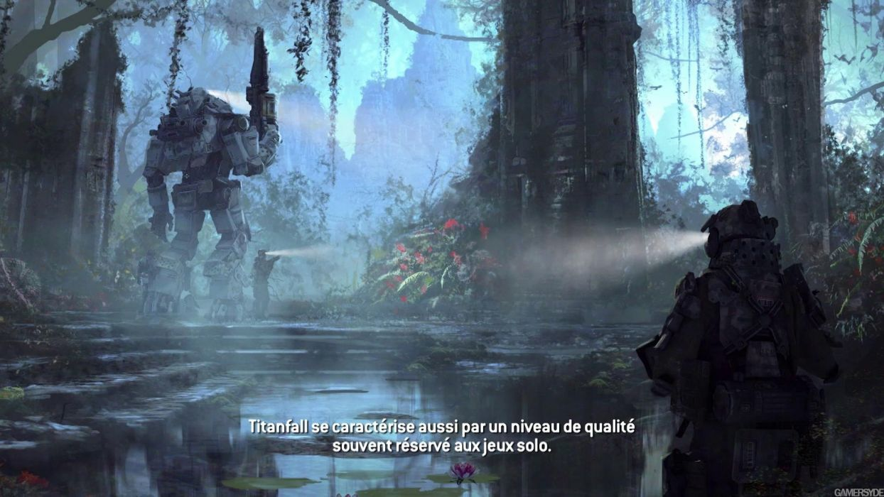 TITANFALL sci-fi game   e wallpaper