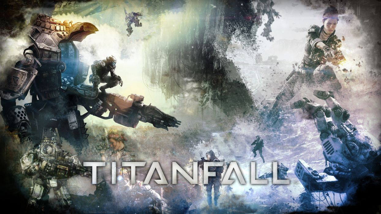 TITANFALL sci-fi game  y wallpaper