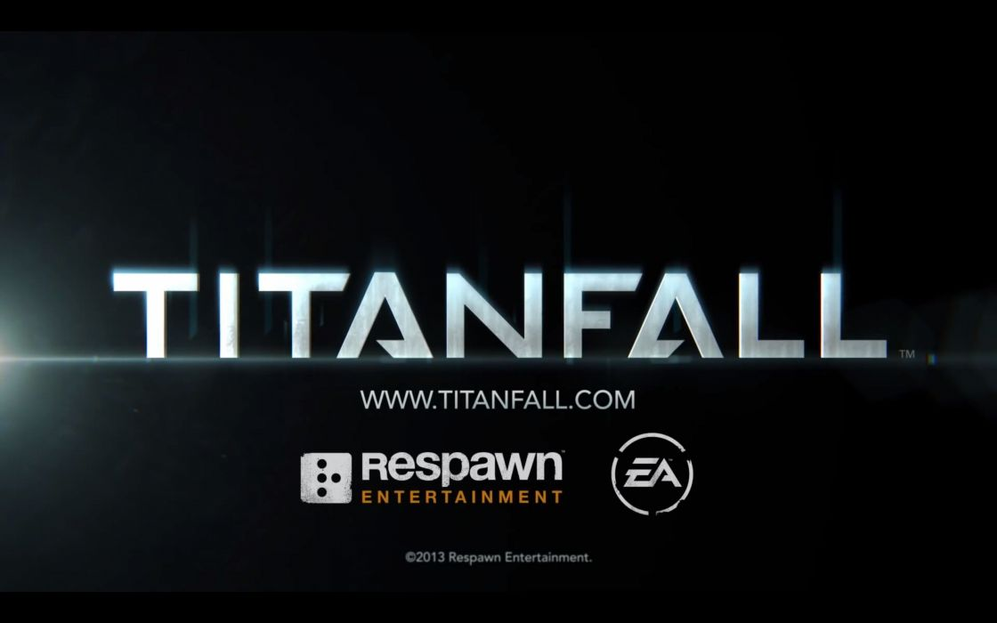 TITANFALL sci-fi game logo poster       t wallpaper