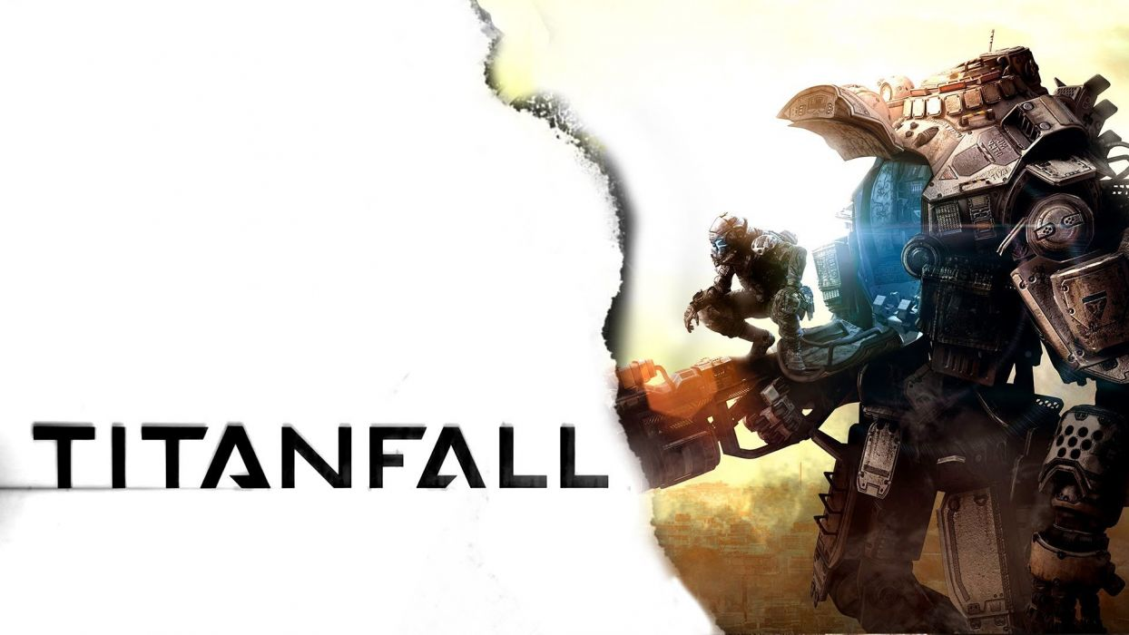 TITANFALL sci-fi game mecha      t wallpaper