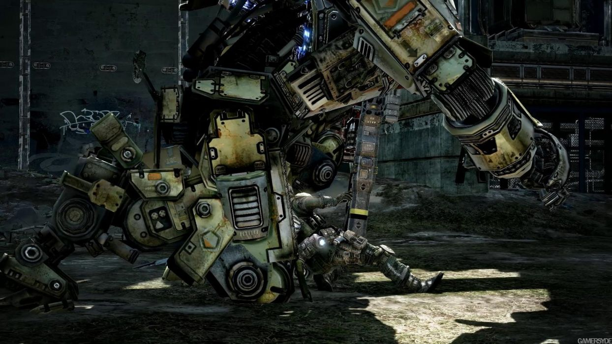 TITANFALL sci-fi game mecha   f wallpaper