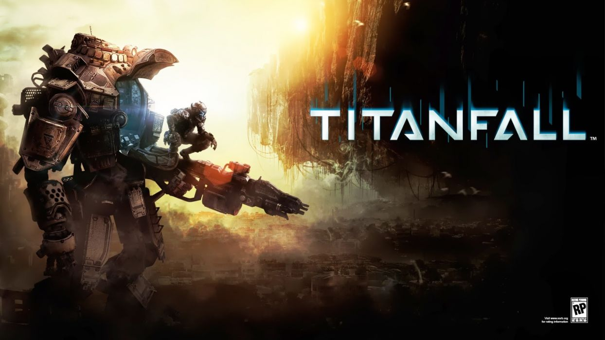TITANFALL sci-fi game mecha  rw wallpaper
