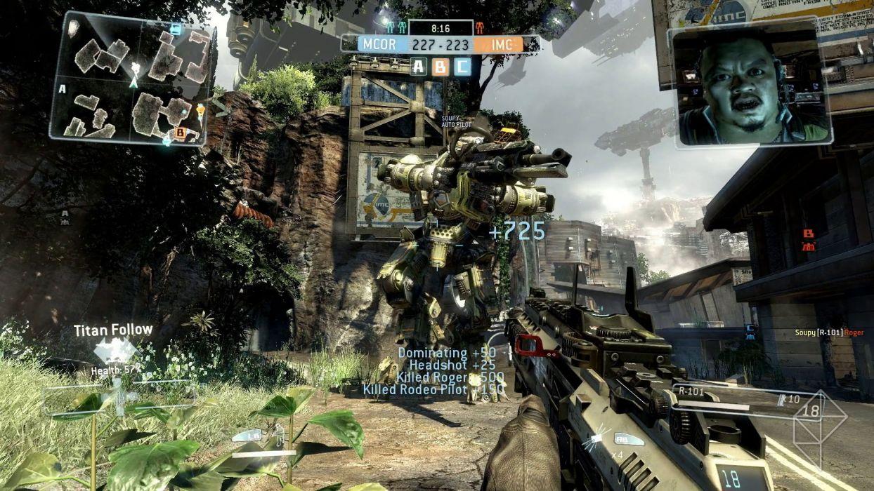 TITANFALL sci-fi game mecha battle         h wallpaper