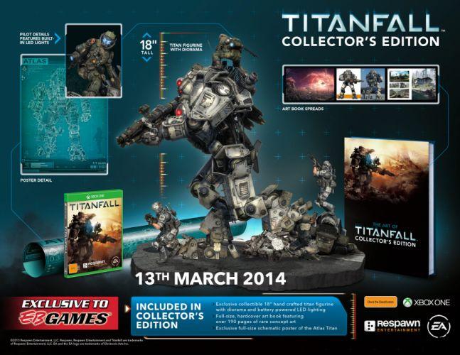 TITANFALL sci-fi game mecha poster f wallpaper
