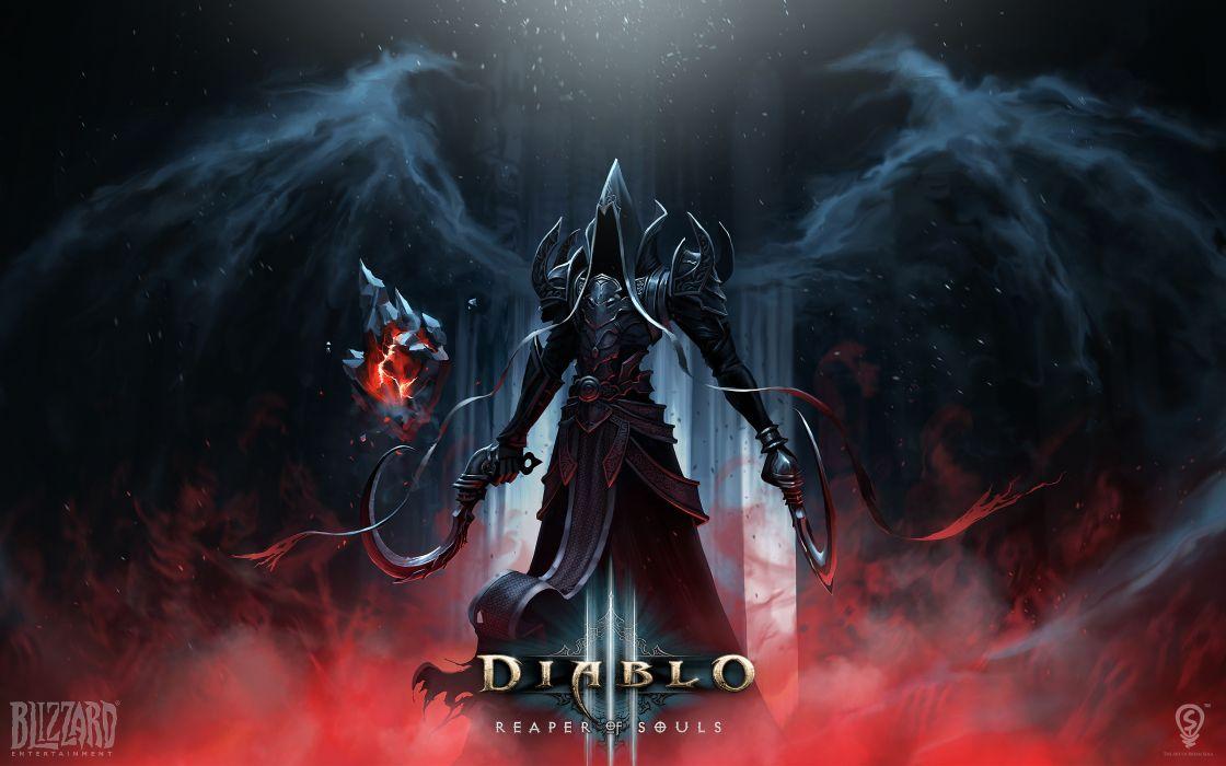 Diablo III ( diablo 3 ) Demons Hood headgear Games Fantasy wallpaper