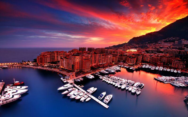 Fontvieille Monaco wallpaper