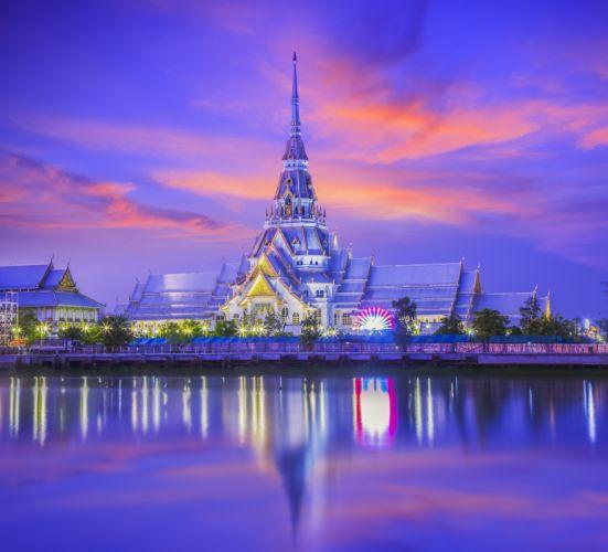 So Thorn temple Thailand t wallpaper