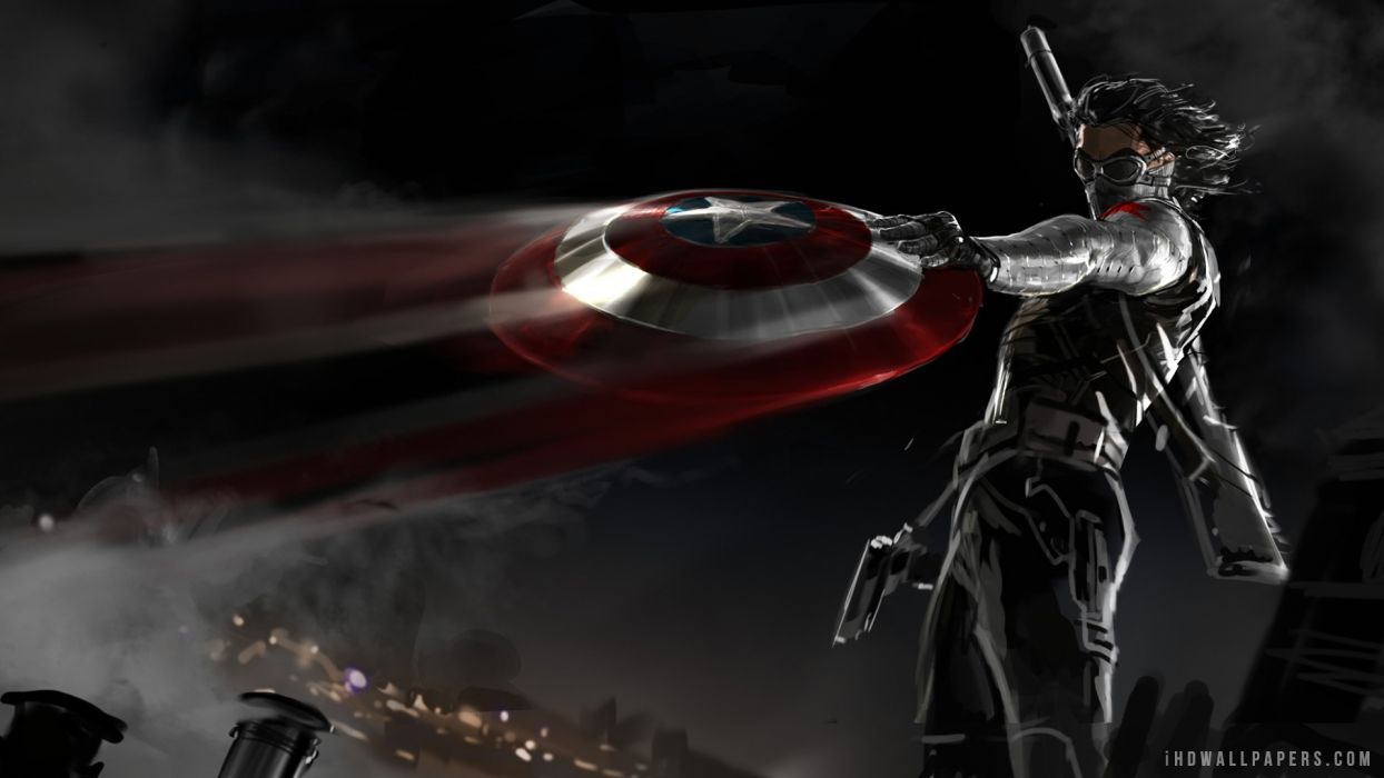Captain America The Winter Soldier movie superhero comics