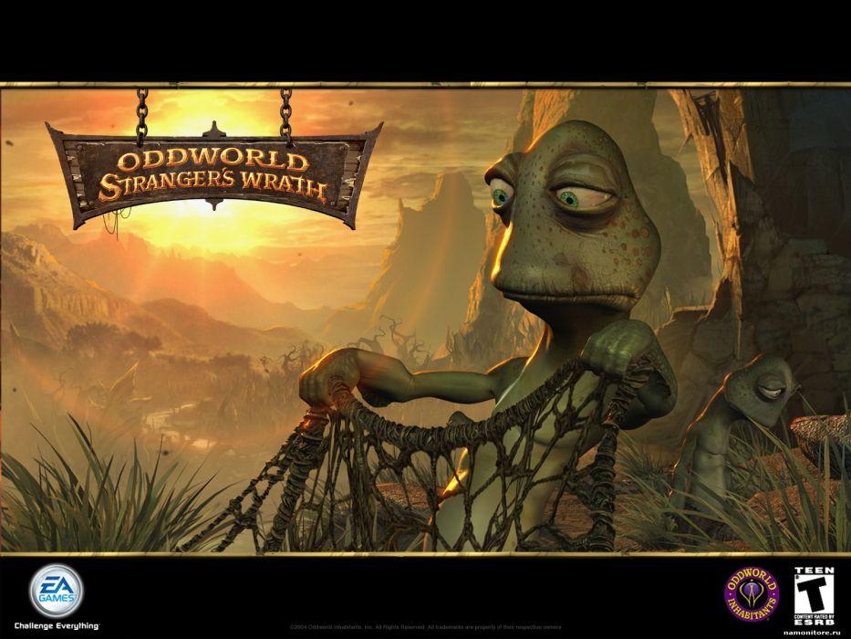 ODDWORLD game e wallpaper