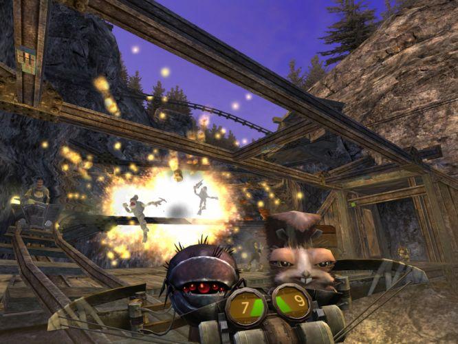 ODDWORLD sci-fi game f wallpaper