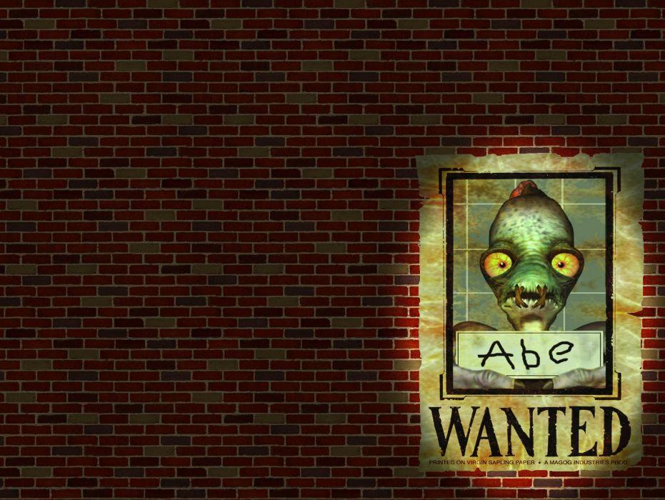 ODDWORLD sci-fi game  ew wallpaper