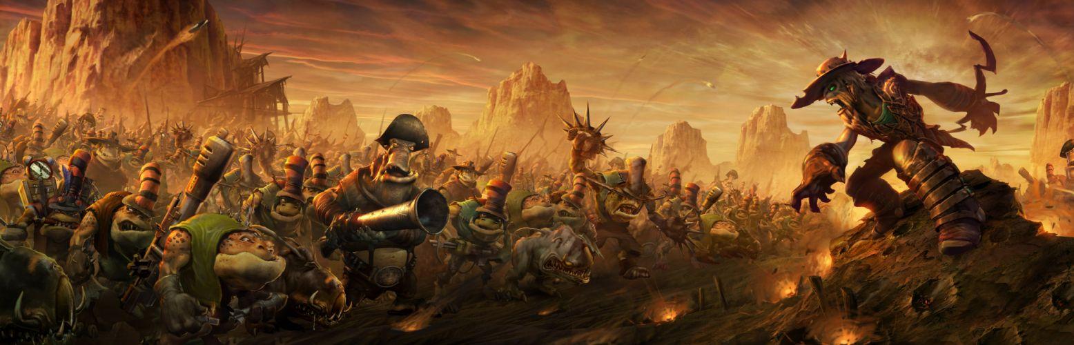 ODDWORLD sci-fi game fantasy d wallpaper