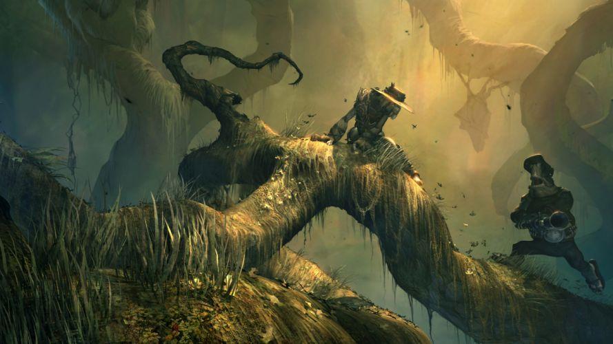 ODDWORLD sci-fi game fantasy dark jj wallpaper